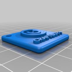 Download free 3D printer designs Llavero CraftBot+, Juntosporlaimpresion3D