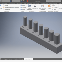 Impresiones 3D gratis Prueba Roscas Métricas, Juntosporlaimpresion3D