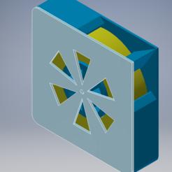 1.PNG Télécharger fichier STL Soporte cinta americana/cinta pintor • Design imprimable en 3D, Juntosporlaimpresion3D