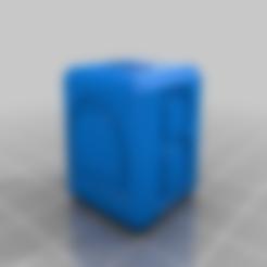 Download free STL file Calibration 20x20x20 cube (Marks' cube) • 3D print template, Juntosporlaimpresion3D