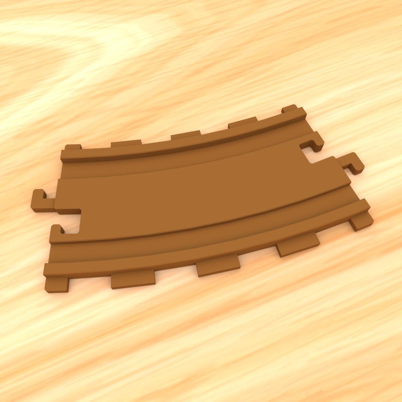smalltoys-traintracks-straight-curved03.jpg Download STL file SmallToys - Starter Pack • 3D printer model, Wabby