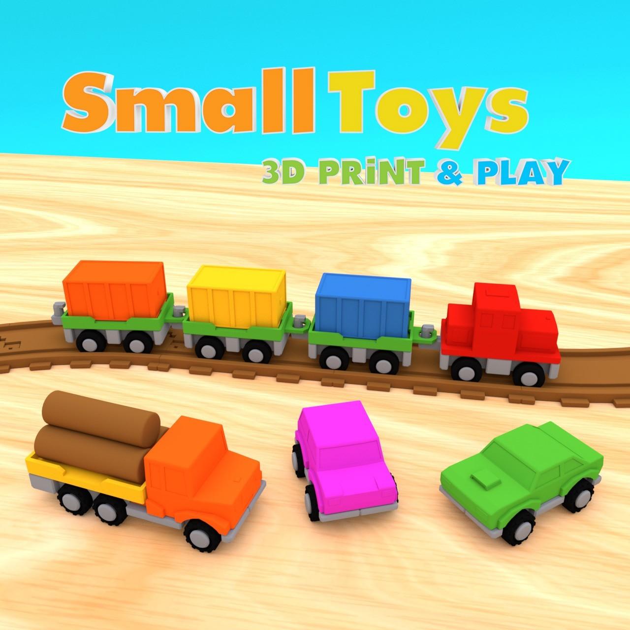 smalltoys-Starterpack01.jpg Download STL file SmallToys - Starter Pack • 3D printer model, Wabby