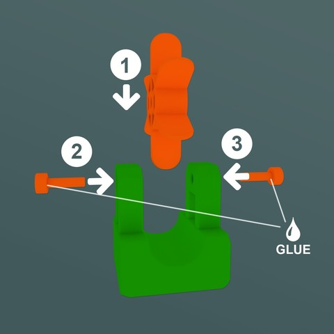AssemblyWheel.jpg Download STL file Marble Run Blocks - Extension pack • 3D printing design, Wabby