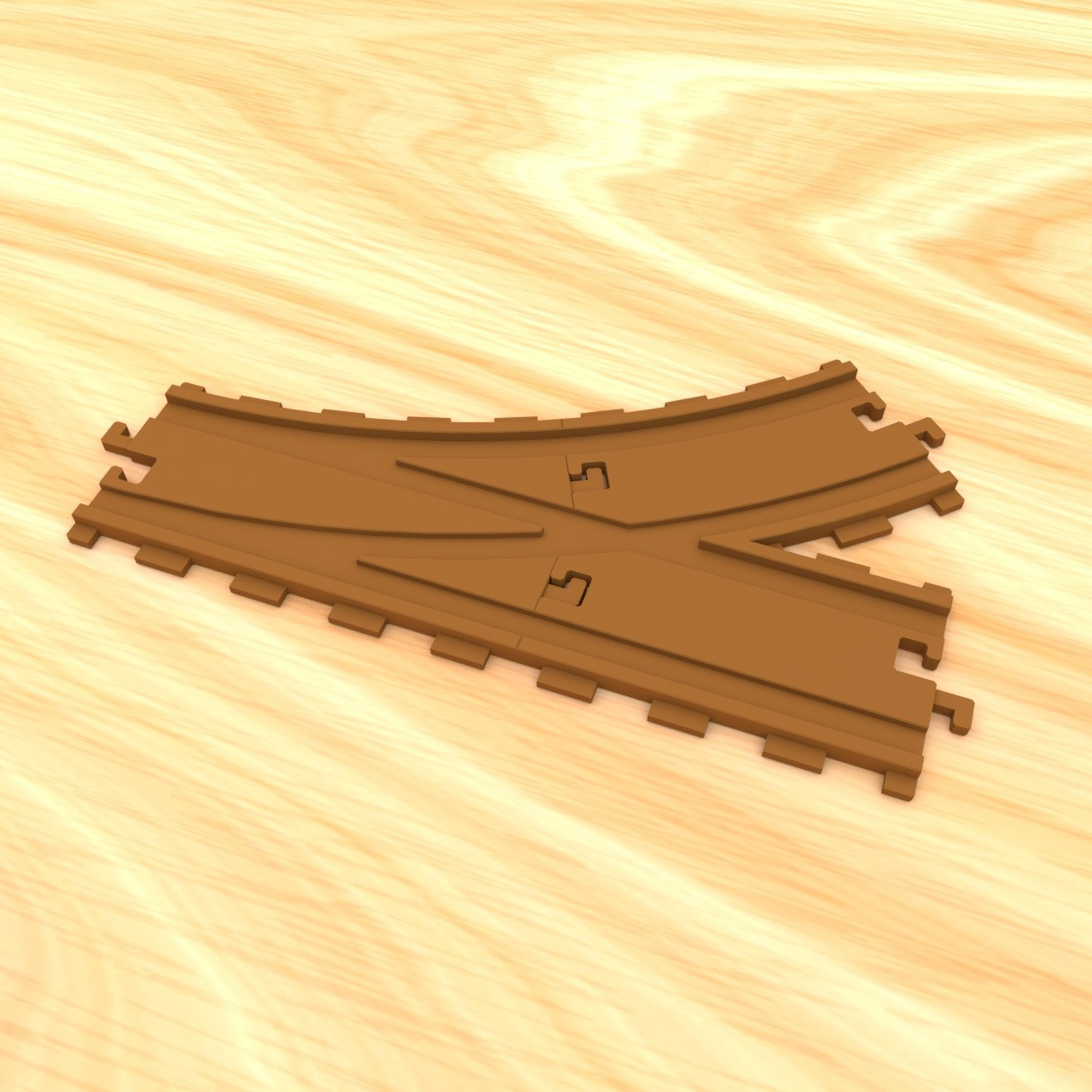 smalltoys-trainswitches03.jpg Download STL file SmallToys - Railway tracks - Switches • 3D print design, Wabby