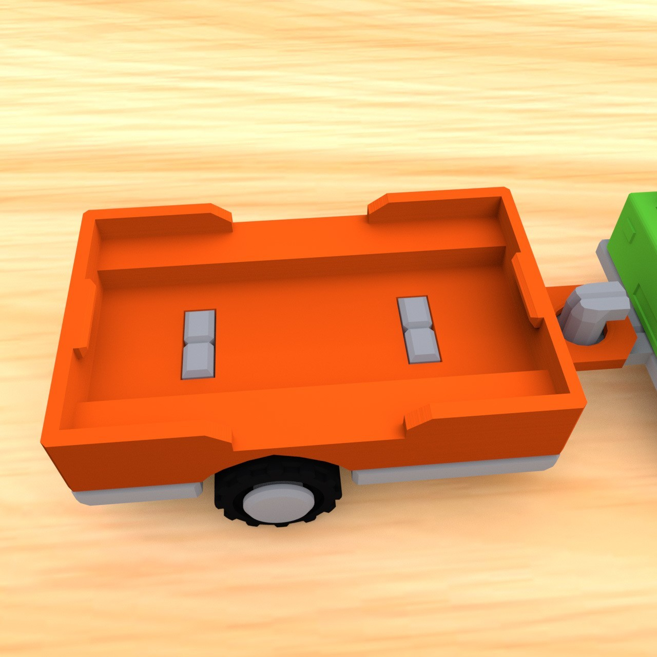 smalltoys-ShortTruckTrailer03.jpg Download STL file SmallToys - Trucks and trailers pack • Design to 3D print, Wabby