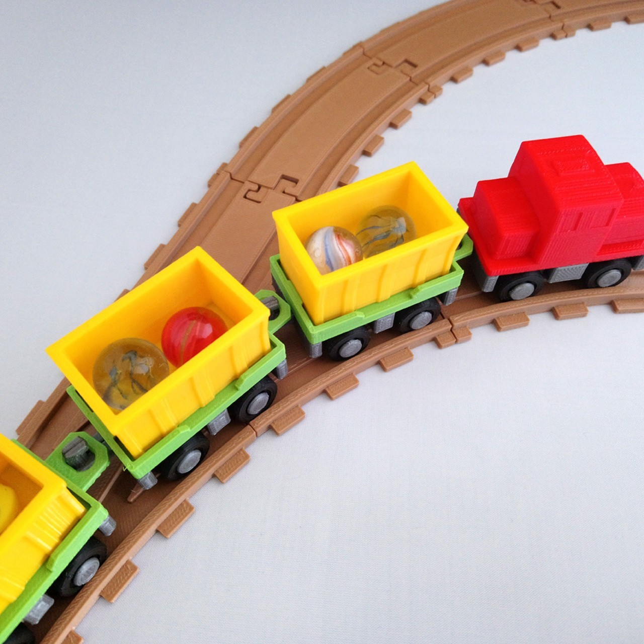 smalltoys-trainswitches04.jpg Download STL file SmallToys - Railway tracks - Switches • 3D print design, Wabby