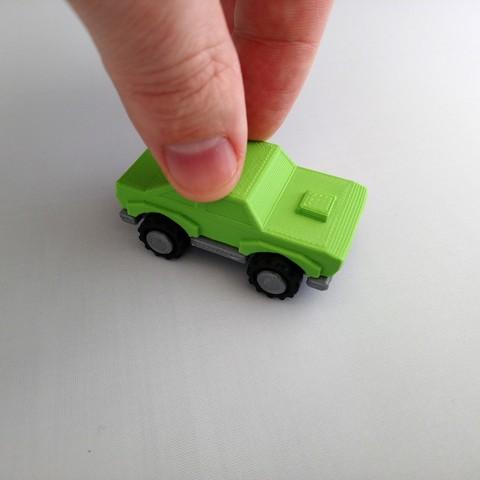 smalltoys-samplecar03.jpg Download STL file SmallToys - Cars pack • 3D print design, Wabby