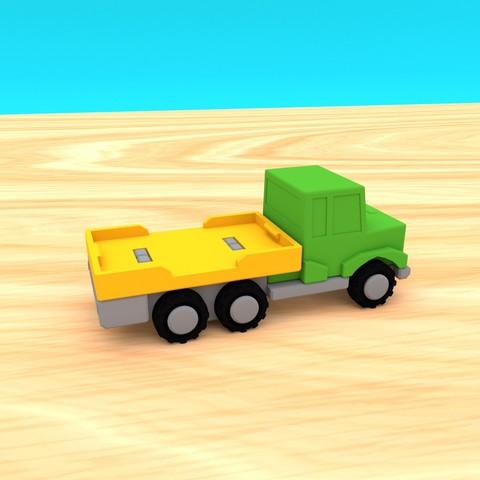 smalltoys-truckspack02.jpg Download STL file SmallToys - Starter Pack • 3D printer model, Wabby
