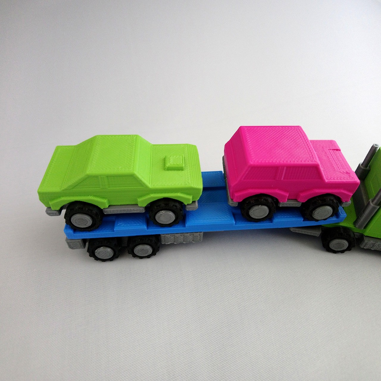 SmallToys-EuropeanTruck05.jpg Download STL file SmallToys - Trucks and trailers pack • Design to 3D print, Wabby