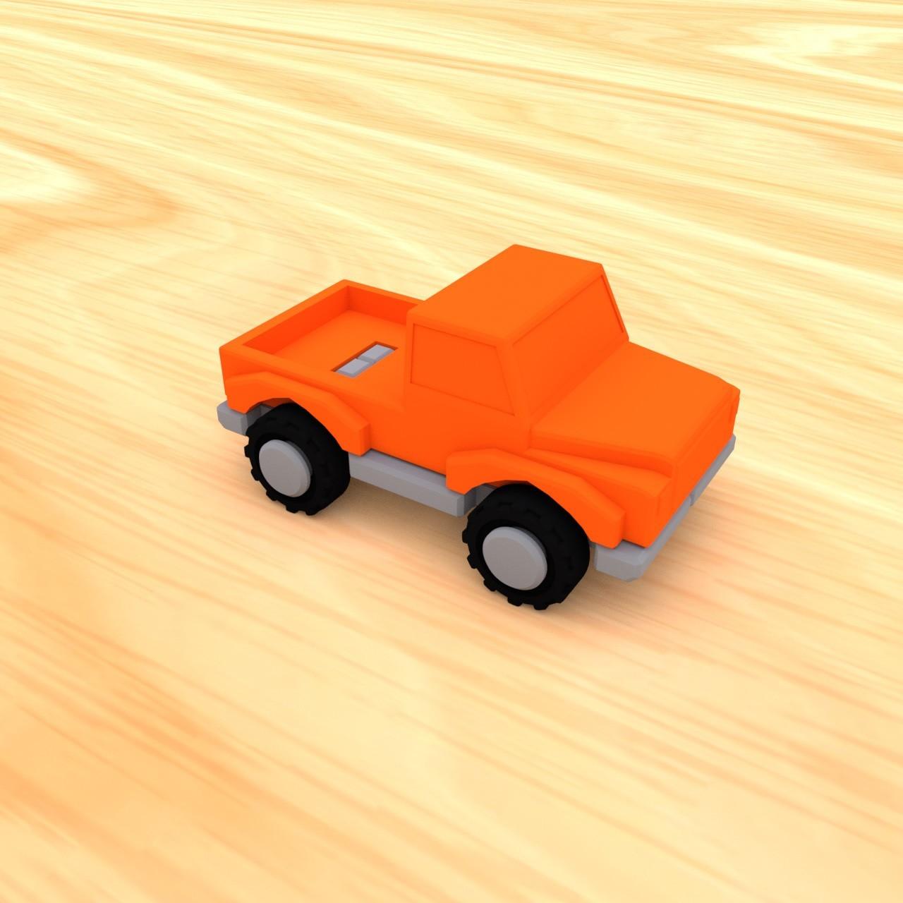 smalltoys-carspack08.jpg Download STL file SmallToys - Cars pack • 3D print design, Wabby