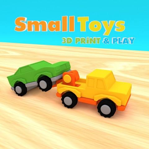 STL files SmallToys - Tow truck, Wabby