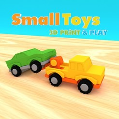 3d model SmallToys - Tow truck, Wabby