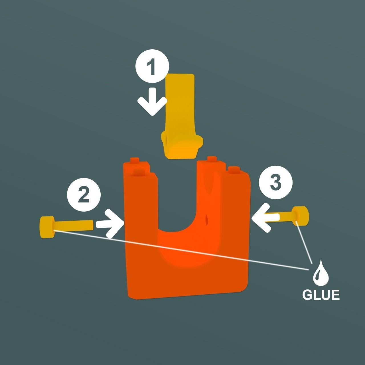 AssemblyDispatcher.jpg Download STL file Marble Run Blocks - Extension pack • 3D printing design, Wabby
