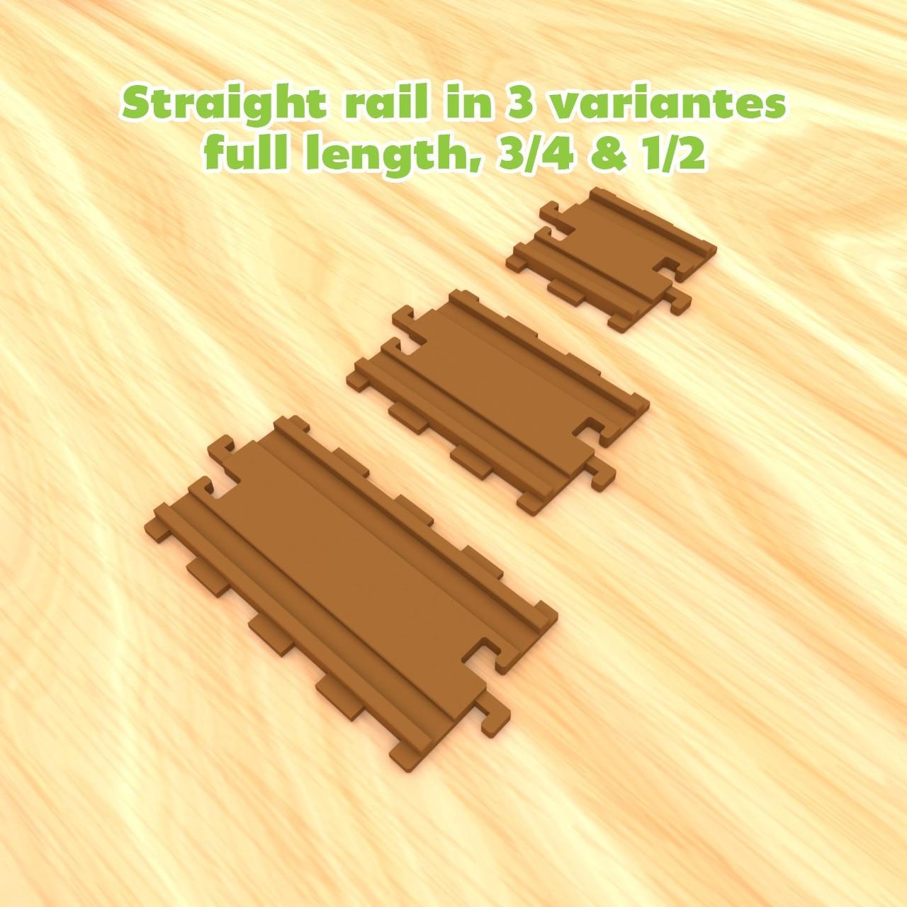 smalltoys-traintracks-straight-curved05.jpg Download STL file SmallToys - Starter Pack • 3D printer model, Wabby