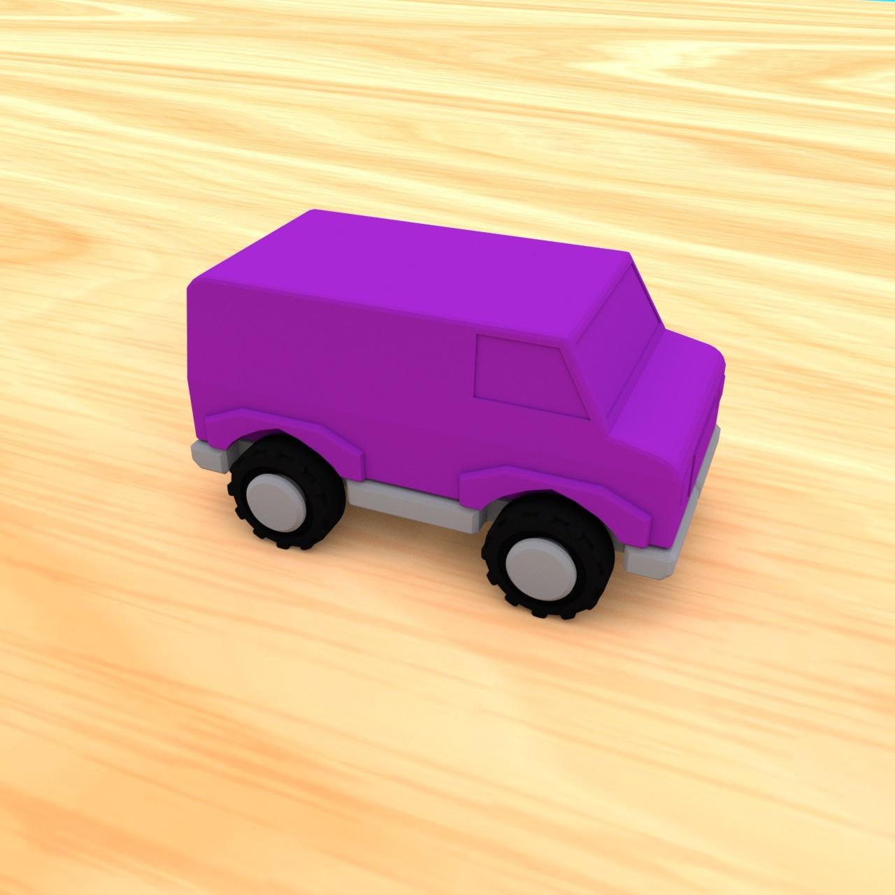 smalltoys-carspack09.jpg Download STL file SmallToys - Cars pack • 3D print design, Wabby