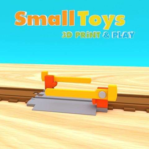 STL SmallToys - Vías férreas - Paso a nivel, Wabby