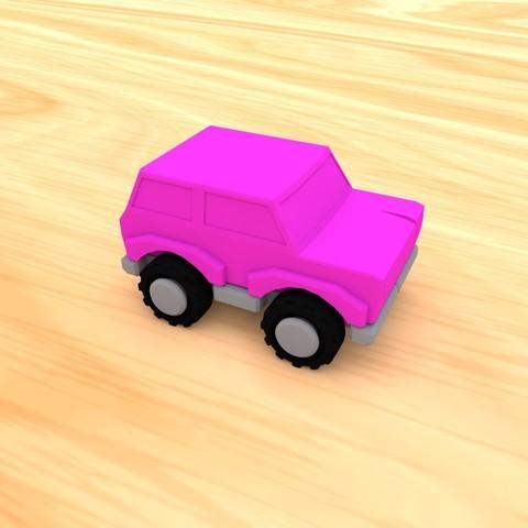 smalltoys-carspack03.jpg Download STL file SmallToys - Cars pack • 3D print design, Wabby
