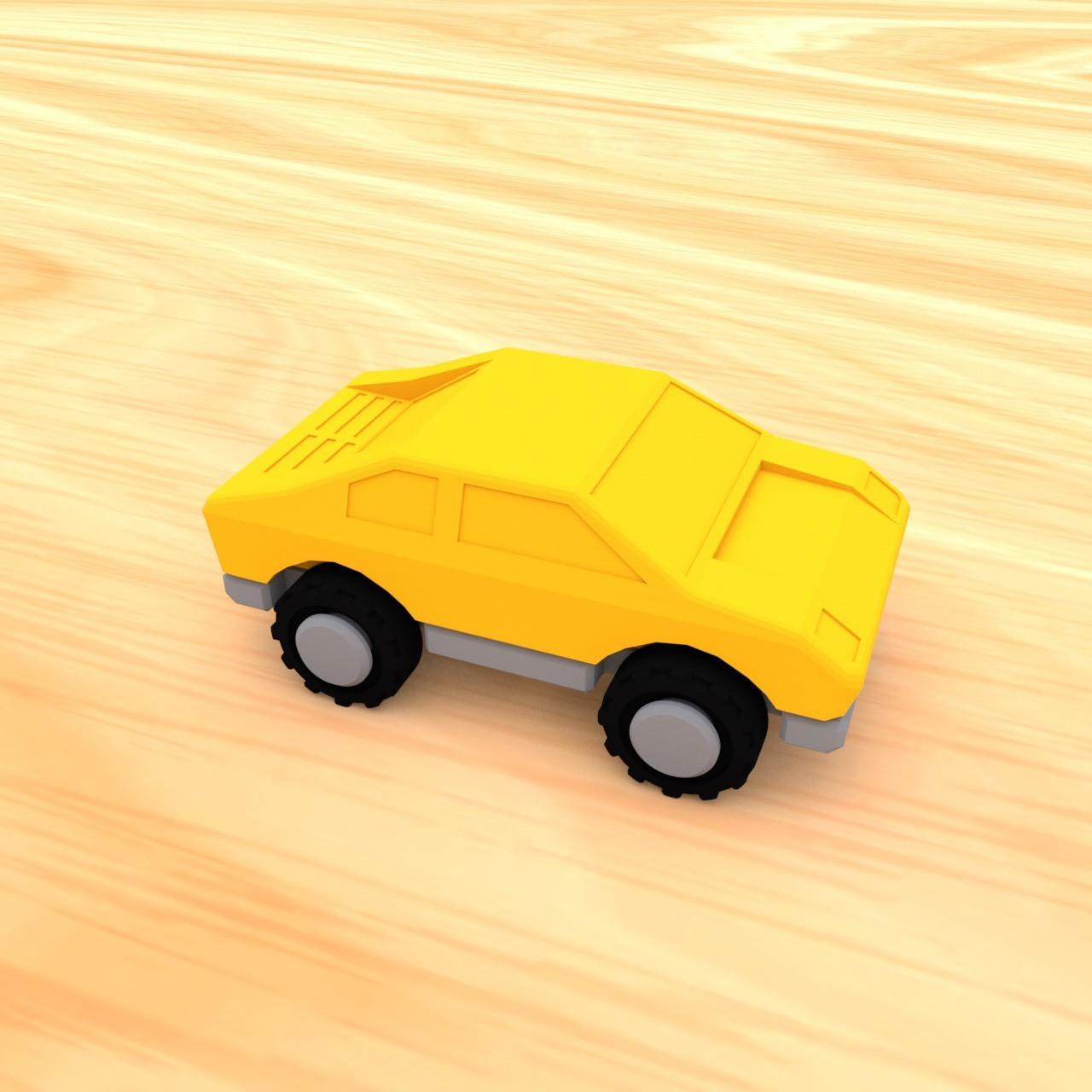 smalltoys-carspack05.jpg Download STL file SmallToys - Cars pack • 3D print design, Wabby