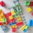 Download STL Marble Run Blocks - Starter pack, Wabby