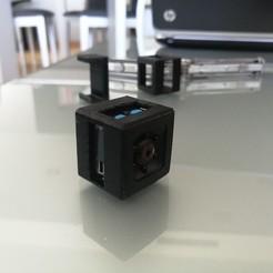 Télécharger modèle 3D gratuit Boîtier et clip de la caméra SQ11, Ginesor
