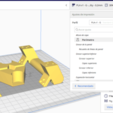 Download free 3D printer templates Filament holder base, Ginesor