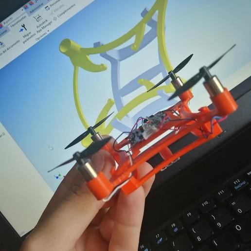 IMG_20200618_191940.jpg Download free STL file Mini Drone • 3D printable template, Ginesor
