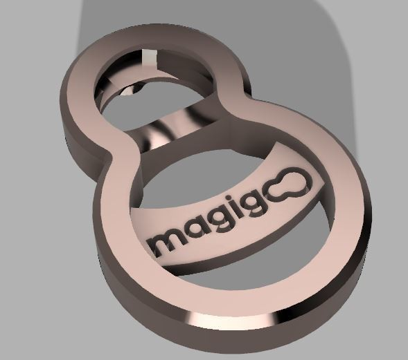 Decap 1.JPG Download free STL file Bottle opener #MAGIGOO • 3D printer model, DesignProject