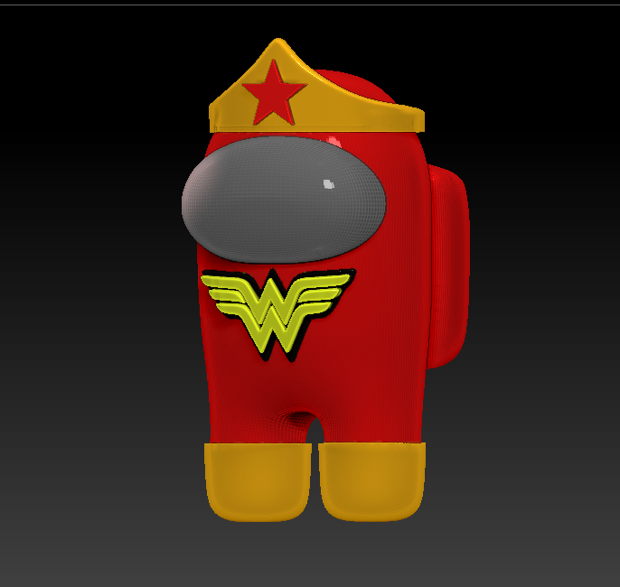 among_us_wonder_r.png Download free STL file Among Us - Wonder Woman • 3D printable design, Chamunizu