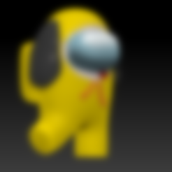among_us_chimmy_v001.stl Download free STL file Among Us - Chimmy BTS • Object to 3D print, Chamunizu
