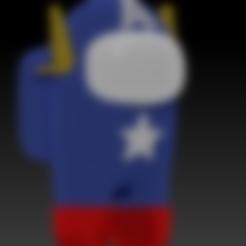 amog_us_captain_america_v001.stl Download free STL file Among Us - Captain America • 3D print design, Chamunizu