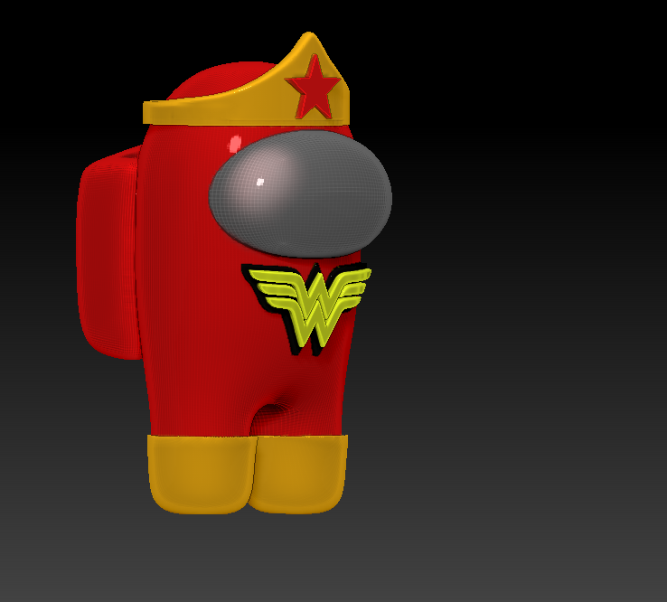 among_us_wonder_l.png Download free STL file Among Us - Wonder Woman • 3D printable design, Chamunizu