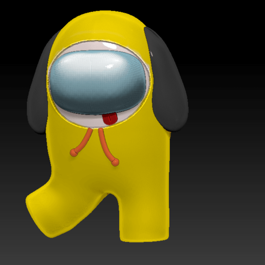 among_us_chimmy_f.png Download free STL file Among Us - Chimmy BTS • Object to 3D print, Chamunizu