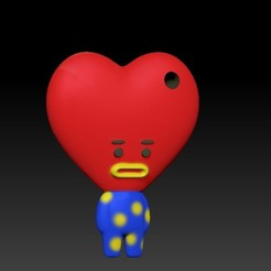 image2.jpeg Download free STL file BT21 - Tata • 3D printing template, Chamunizu