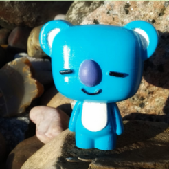 koya print.png Download free STL file BT21 - Koya • 3D printing model, Chamunizu
