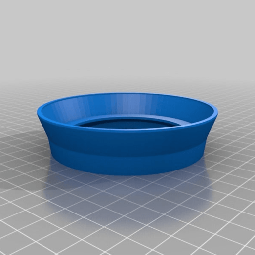KaffeeW.png Download free SCAD file Non-Dairy Creamer Jar Stacker Ring • 3D printing model, EddyMI3D