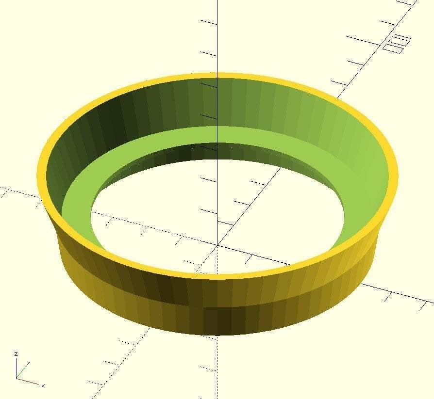 KaffeeW.jpg Download free SCAD file Non-Dairy Creamer Jar Stacker Ring • 3D printing model, EddyMI3D
