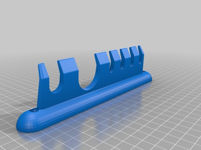 BathroomHolder.png Download free SCAD file Holder for Things in the Bathroom • 3D printable object, EddyMI3D