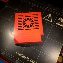 Download free 3D printing files Prusa i3 MK2.5 Rambo Door with fan, EddyMI3D