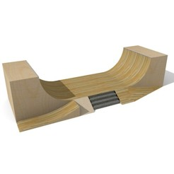 Download STL finger skate ramp, simonb