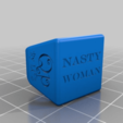 Download free 3D printing templates Nasty-Woman ring, 3D_Maniac