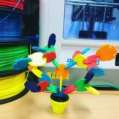 IMG_1477.JPG Download free STL file Colorfull tree puzzel • Model to 3D print, 3D_Maniac