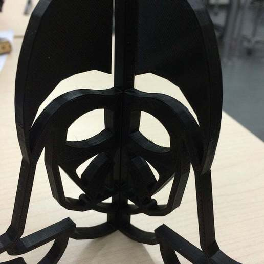 Download free 3D model Darth Vader frame holder, 3D_Maniac