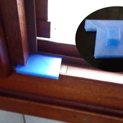 Download free 3D printer model Window blocker, Algernon