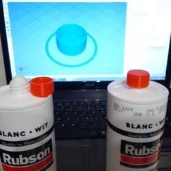 Imprimir en 3D gratis Tapón de silicona, Algernon