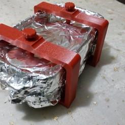 Download free 3D printer designs Foie gras press, Algernon