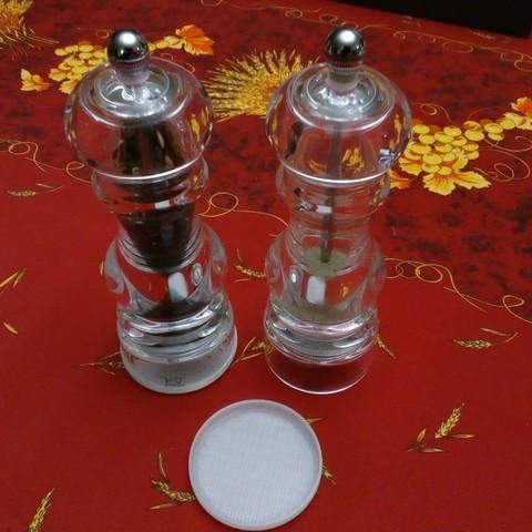 Free STL files Cover for Peugeot salt and pepper shakers, Algernon