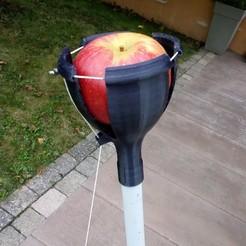 Free stl files Apple pickers, Algernon