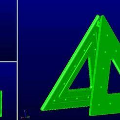 traffic_triangle.JPG Télécharger fichier STL gratuit Triangle de signalisation routière • Plan pour imprimante 3D, se7en