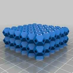 antiwarping_block_v2_20140326-13138-1mlk8we-0.jpg Download free STL file My Customized Anti-Warping Block, Truncated Octahedrons • Design to 3D print, se7en