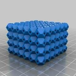 antiwarping_block_v2_20140326-17085-1n8k9ub-0.jpg Download free STL file My Customized Anti-Warping Block, Truncated Octahedrons • Design to 3D print, se7en